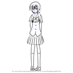 How to Draw Taeko Hiramatsu from Kore wa Zombie desu ka?