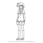 How to Draw Yuki Yoshida from Kore wa Zombie desu ka?