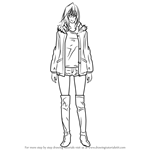 How to Draw Alexandra Garcia from Kuroko no Basuke
