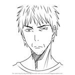 How to Draw Kagetora Aida from Kuroko no Basuke