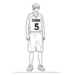 How to Draw Shun Izuki from Kuroko no Basuke