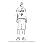 How to Draw Wei Liu from Kuroko no Basuke