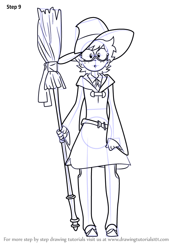 Learn How To Draw Lotte Yanson From Little Witch Academia