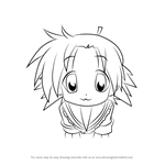 How to Draw Akira Kogami from Lucky Star