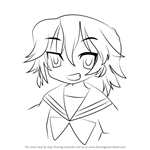 How to Draw Ko Yasaka from Lucky Star