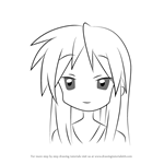 How to Draw Miki Hiiragi from Lucky Star