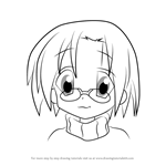How to Draw Yui Narumi from Lucky Star