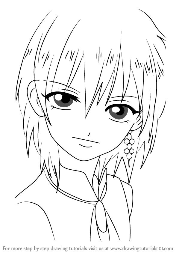Learn How To Draw Titus Alexius From Magi Magi Step By