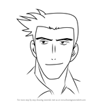 How to Draw Hideki Shigeno from Major