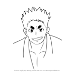 How to Draw Betsuhei Jounan from Medaka Box