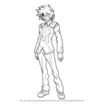 How to Draw Habataki Hyuuga from Medaka Box