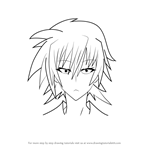 How to Draw Miri Natayama from Medaka Box
