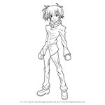 How to Draw Misogi Kumagawa from Medaka Box