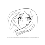 How to Draw Renpei Iya from Medaka Box