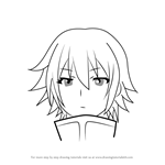 How to Draw Tomojiki Koyu from Medaka Box