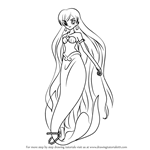 How to Draw Karen in Mermaid from Mermaid Melody