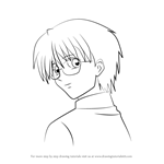 How to Draw Masahiro Hamasaki from Mermaid Melody