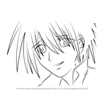 How to Draw Rihito Amagi from Mermaid Melody