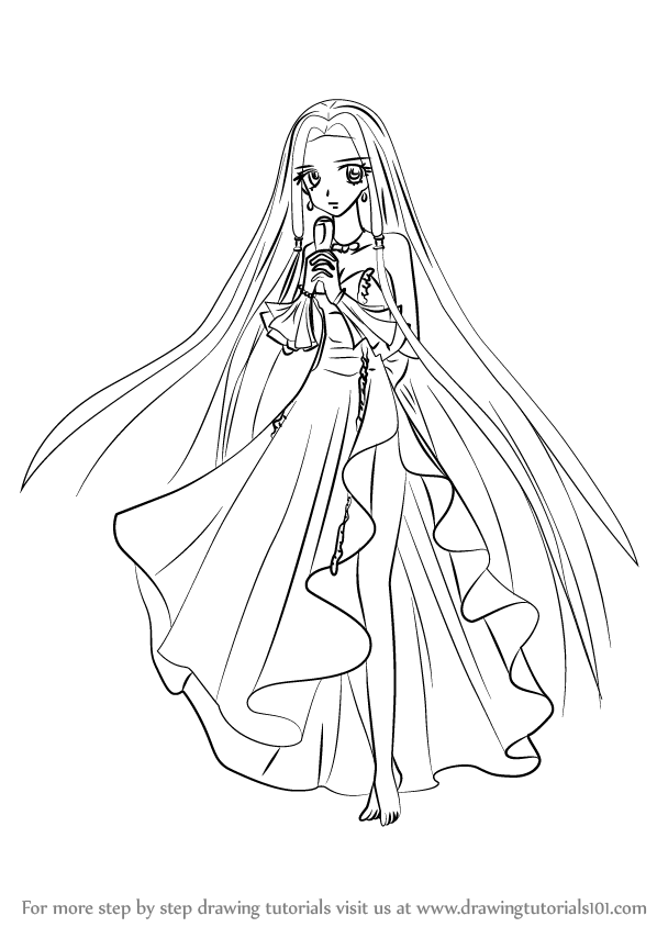 how to draw sara from mermaid melody