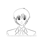 How to Draw Taro Mitsuki from Mermaid Melody