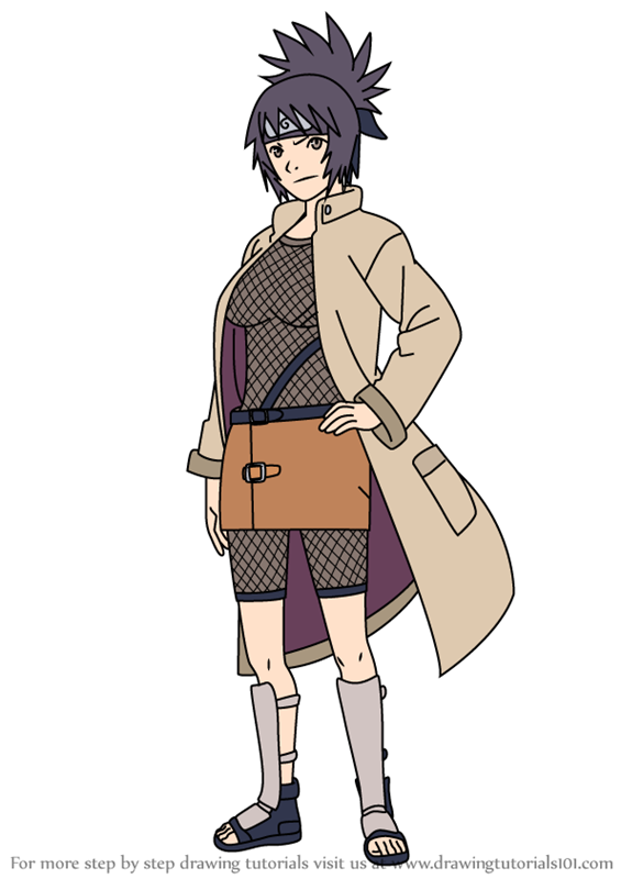 Learn How To Draw Anko Mitarashi From Naruto Naruto Step By Step Drawing Tutorials As a child anko mitarashi grew up in a time of war as a young ninja of the hidden leaf village. learn how to draw anko mitarashi from