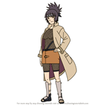 How to Draw Anko Mitarashi from Naruto