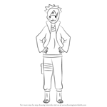 How to Draw Boruto Uzumaki from Naruto
