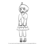 How to Draw Himawari Uzumaki from Naruto