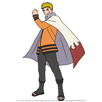How to Draw Hokage from Naruto