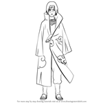 How to Draw Itachi Uchiha from Naruto