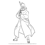 How to Draw Kisame Hoshigaki from Naruto