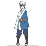 How to Draw Mitsuki from Naruto