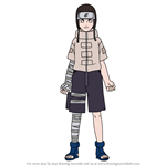 How to Draw Neji Hyuga from Naruto