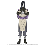 How to Draw Orochimaru from Naruto
