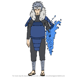 How to Draw Tobirama Senju from Naruto
