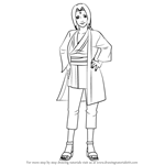 How to Draw Tsunade from Naruto