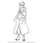 How to Draw Yahiko from Naruto