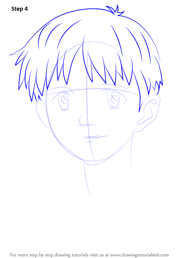 Learn How to Draw Shinji Ikari