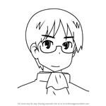 How to Draw Koujirou Sasahara from Nichijou