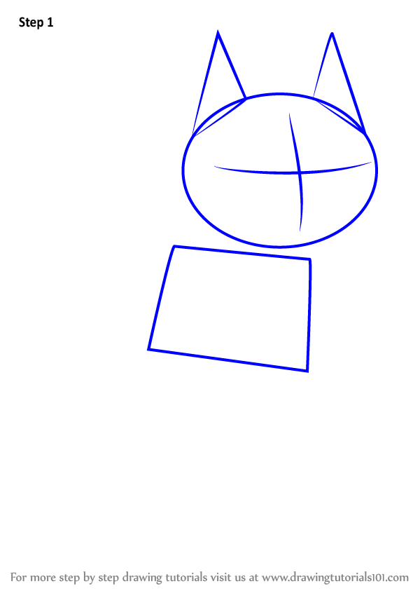 how to draw the flash simbol step 1