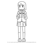 How to Draw Yuria Sekiguchi from Nichijou