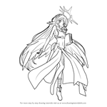 How to Draw Jibril from No Game No Life