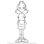 How to Draw Aya Matsushita from Ojamajo Doremi