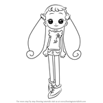 How to Draw Hana-chan from Ojamajo Doremi