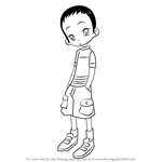 How to Draw Kayoko Nagato from Ojamajo Doremi