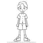 How to Draw Masaharu Miyamoto from Ojamajo Doremi