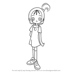 How to Draw Onpu Segawa from Ojamajo Doremi