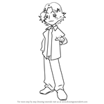 How to Draw Takuro Hagiwara from Ojamajo Doremi