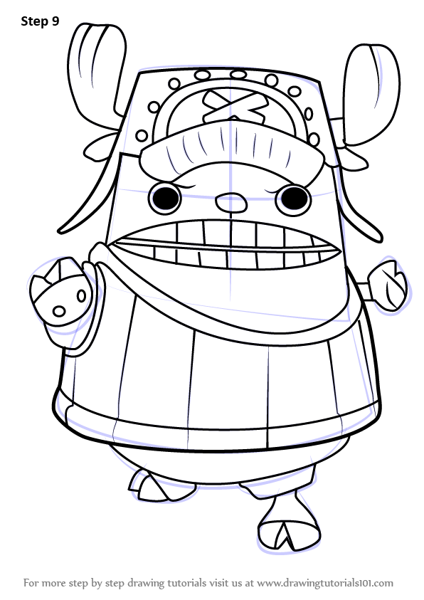 Learn How to Draw Chopper Kung Fu Point from One Piece ... | 596 x 843 png 101kB