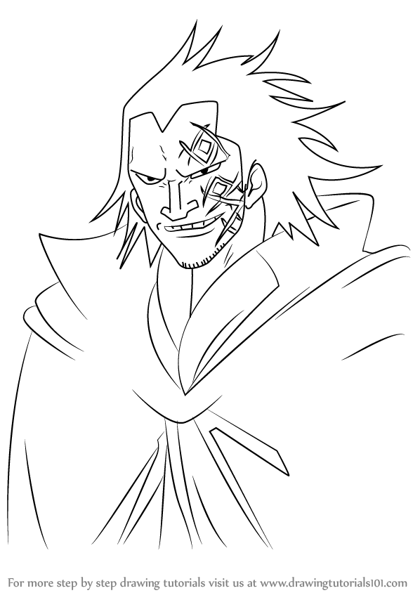 Drawing Lines With D : Step by how to draw monkey d dragon from one piece